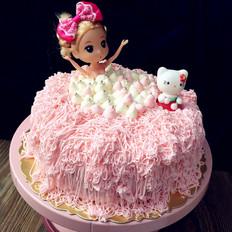 芭比沐浴蛋糕