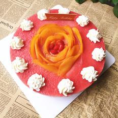 花色慕斯蛋糕