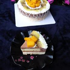 香橙巧克力慕斯蛋糕