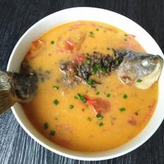 番茄鯽魚湯