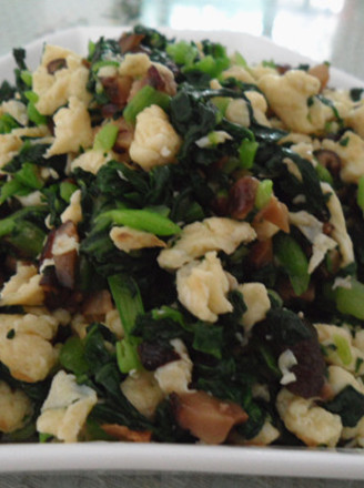 香菇青菜馅的做法