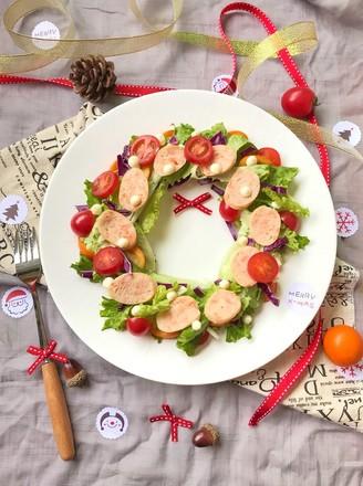 圣诞花环沙拉的做法