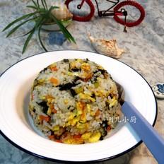 海苔蛋炒饭