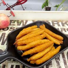 红薯条的做法