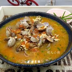 番茄花蛤汤