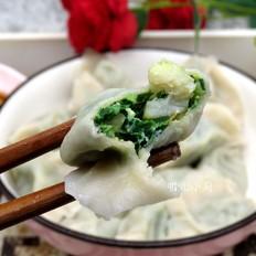 韭菜扇贝饺子