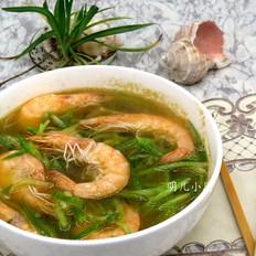 海虾萝卜汤