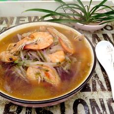 萝卜丝煮大虾