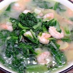 虾仁青菜汤