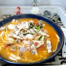 海鲜杂烩汤