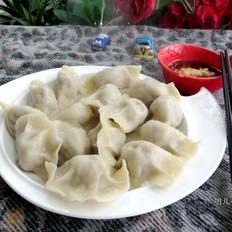 牛肉莲藕饺子
