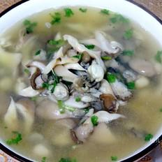 生蚝蘑菇汤