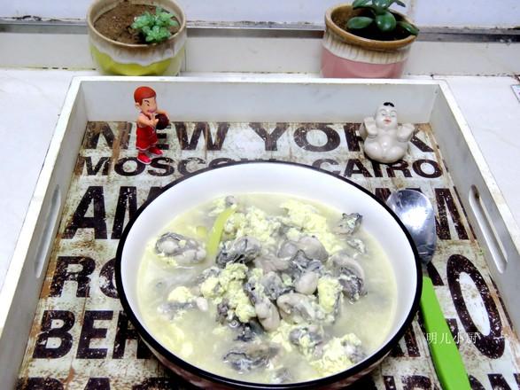 生蚝蛋汤的做法