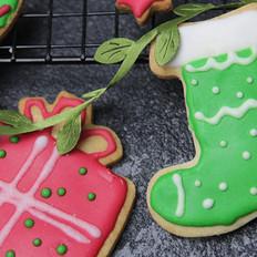 圣诞节糖霜饼干DIY