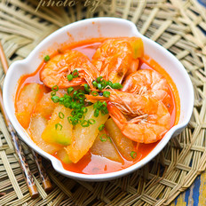 冬瓜煮大虾