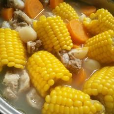 玉米胡萝卜骨汤