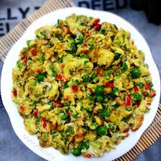 鸡蛋烩豌豆玉米