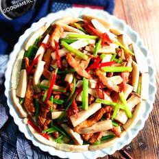 鸡脯肉烩杏鲍菇