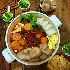 牛腩萝卜火锅