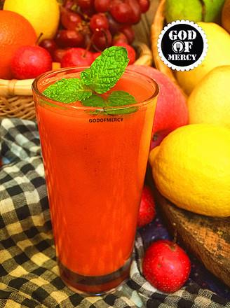 瘦身抗癌的苹果胡萝卜汁的做法