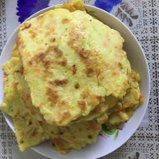 虾仁蔬菜饼