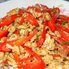 红辣椒炒鸡蛋