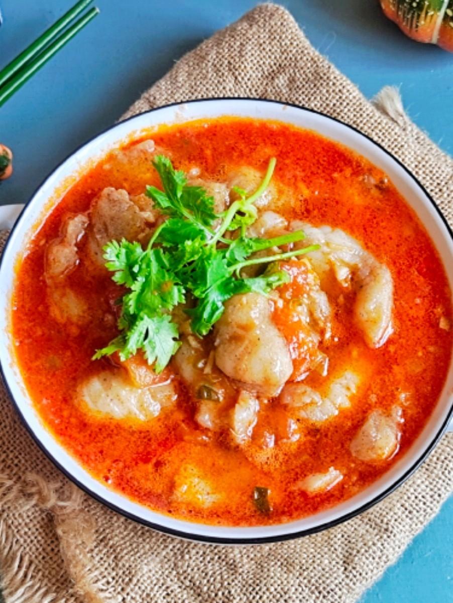 番茄巴沙鱼片