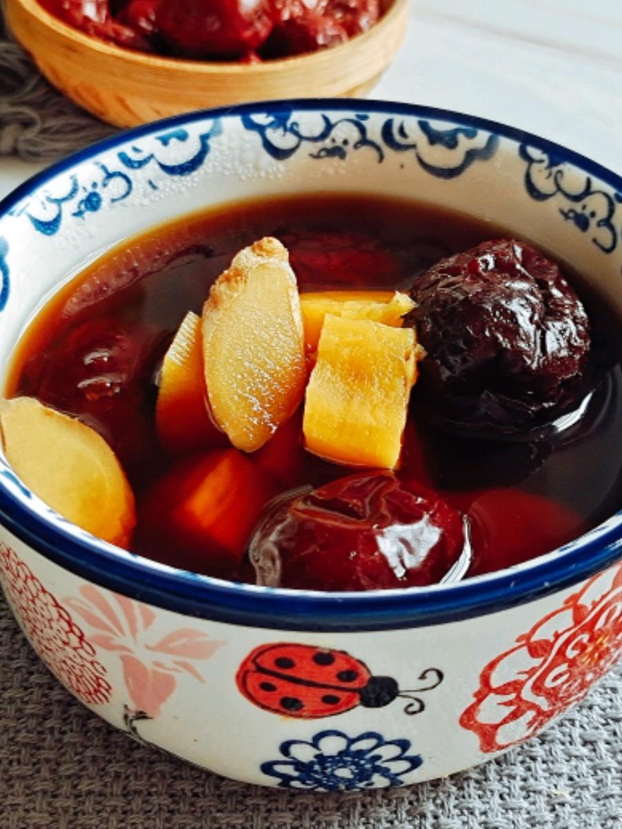 秋冬季滋补养生…姜枣红薯汤