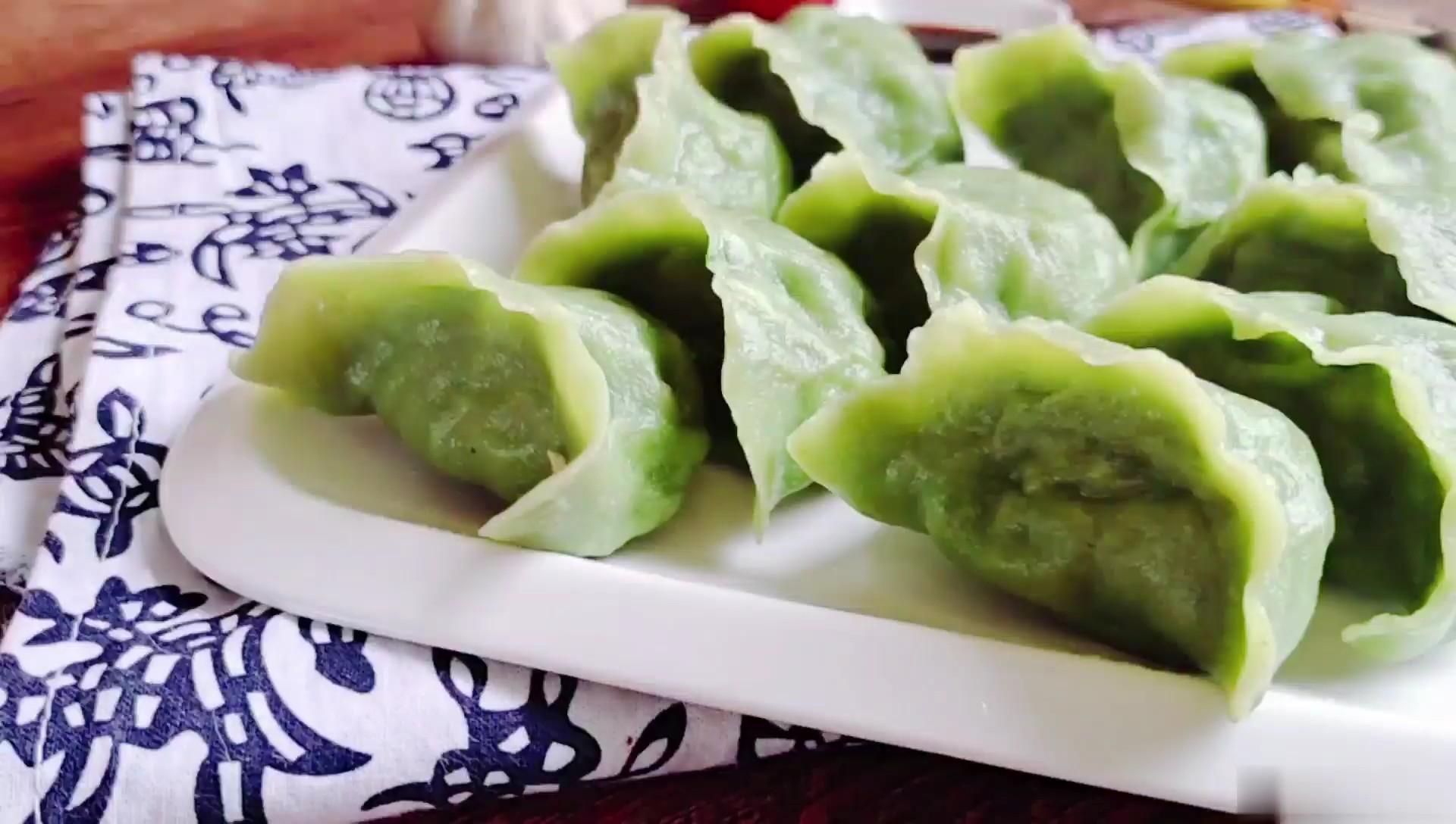 经典的素馅饺子…韭菜豆腐饺子