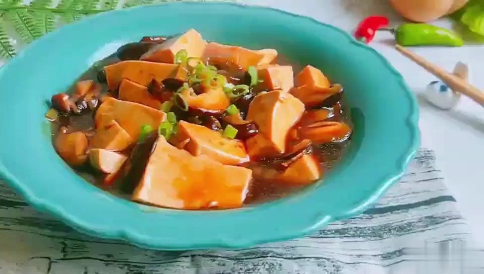 #豆腐的神仙做法#鲍汁香菇炖豆腐