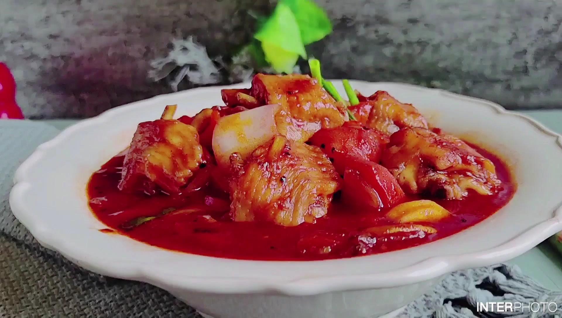 鸡翅的花样吃法…韩式辣酱炖鸡翅