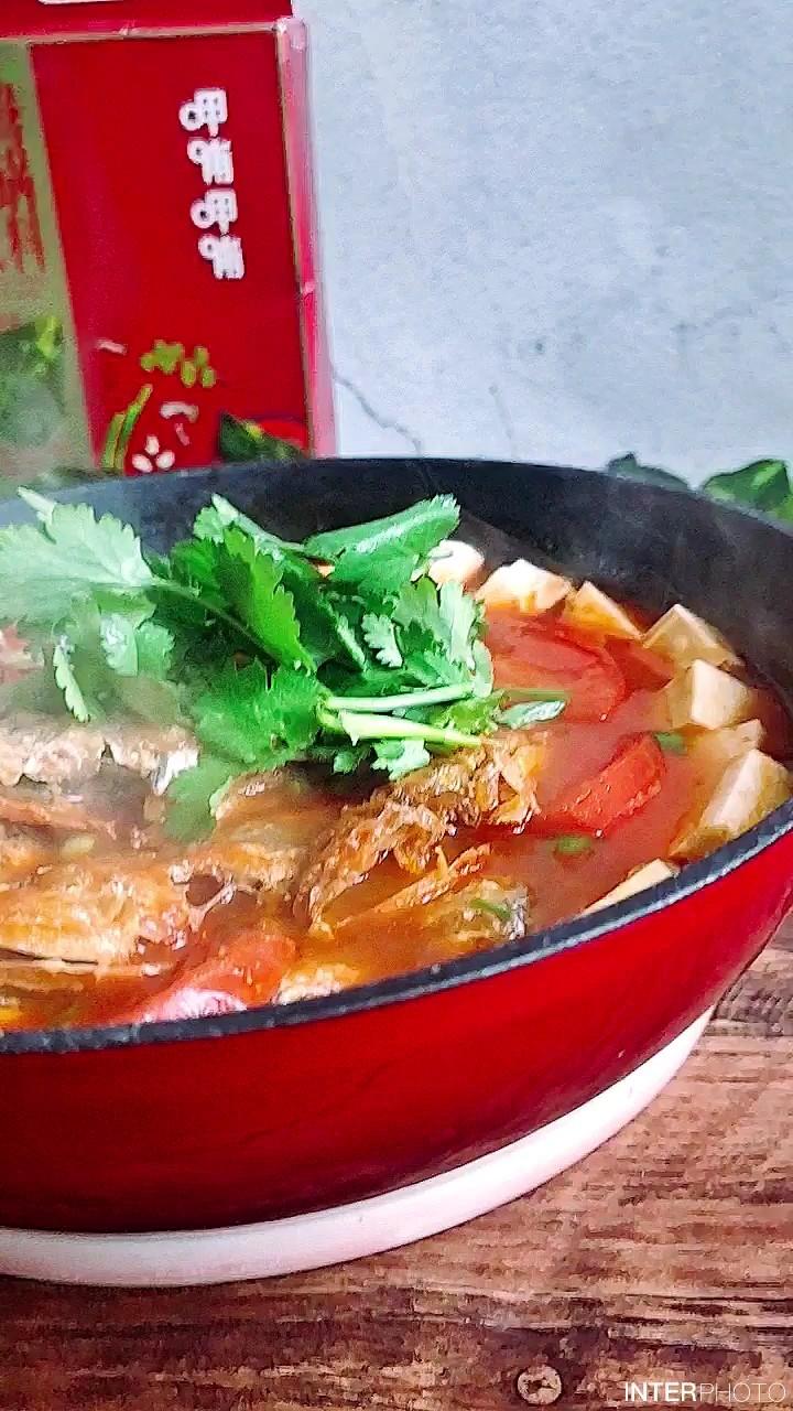 酸爽有滋味,这样一锅补钙又滋补~番茄豆腐鱼锅
