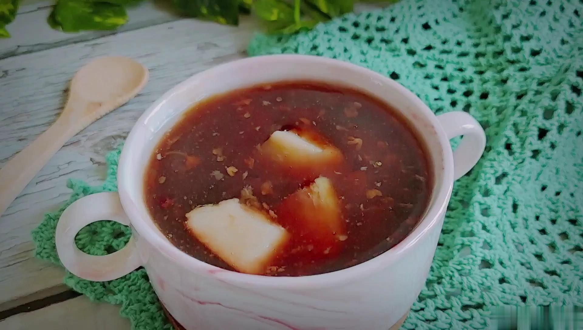 #冬至大如年#冬至以后女人要多喝这碗补血养颜汤~桂花糖芋头
