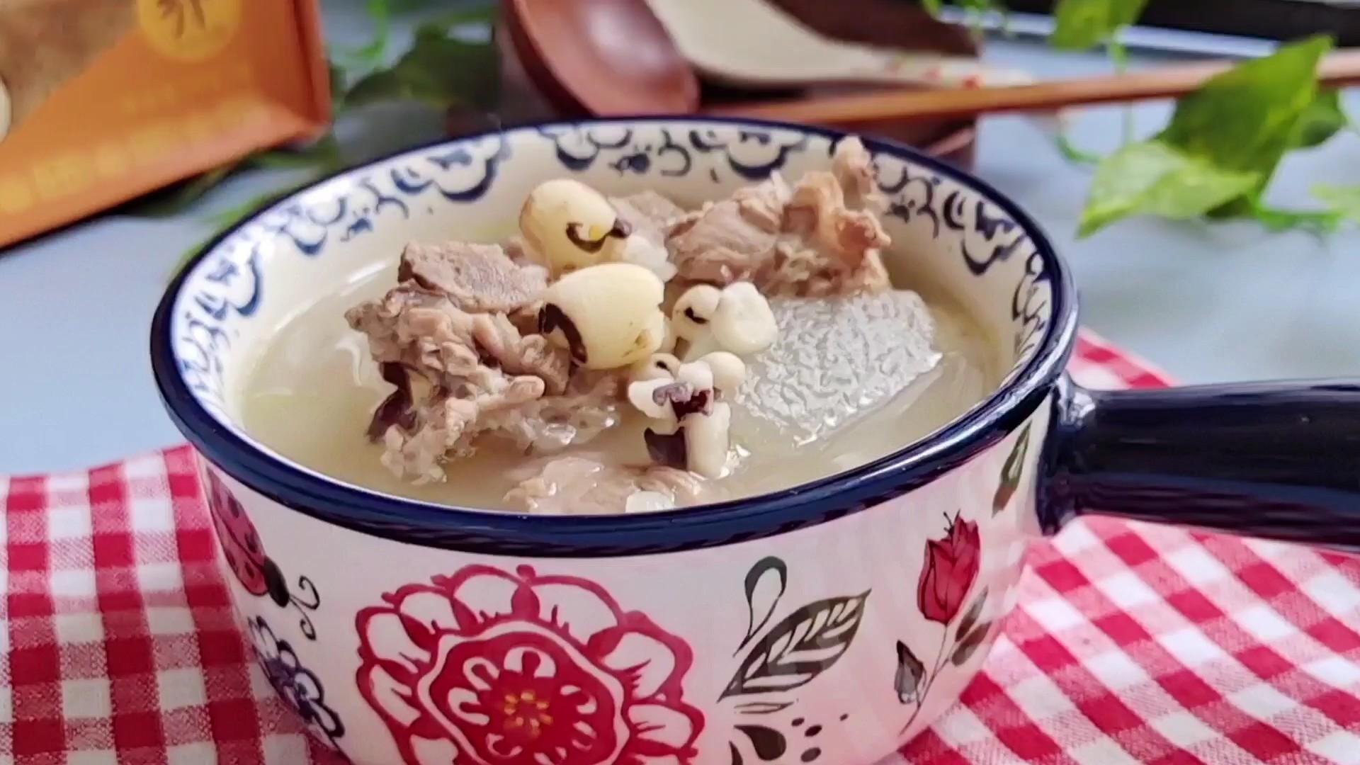 夏日清热解暑滋补汤…莲子薏仁鸭肉冬瓜汤的做法