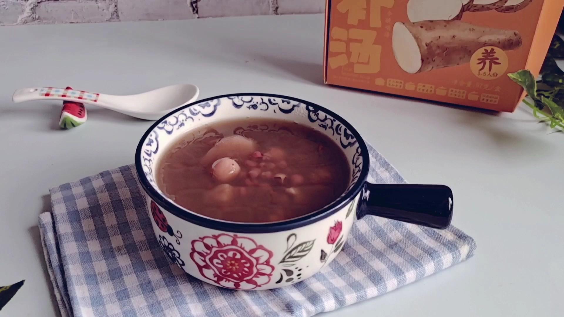 夏日祛湿这样喝…红豆薏米山药汤的做法