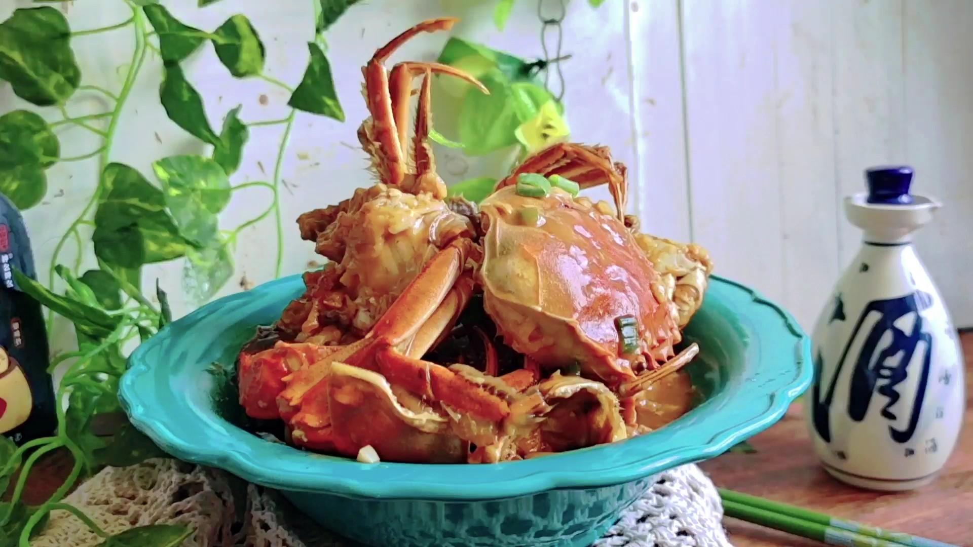 #最美不过中秋味#面拖蟹的做法