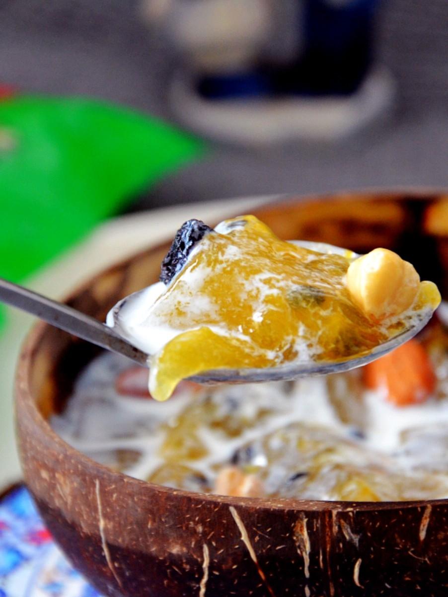 冰爽酸甜,夏日开胃甜品…百香果撞奶的做法