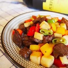 美味颜值担当——杏鲍菇黑椒牛肉粒