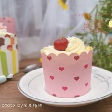 彩虹纸杯蛋糕