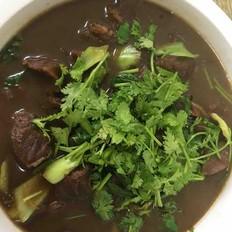 牛肉粉丝汤的做法