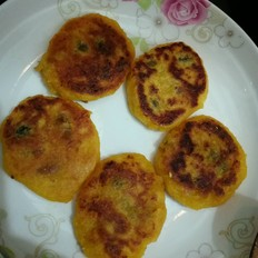 南瓜糯米饼