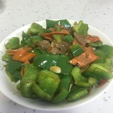 大辣椒炒肉
