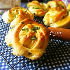 香葱卷丝面包