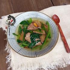 补血补气的菠菜猪肝汤