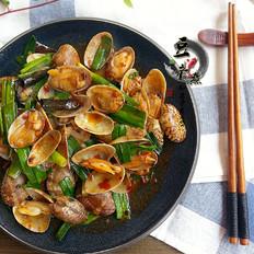 香辣花蛤的做法