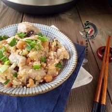 芋香瑶柱焖饭