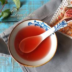 酸甜梅子茶