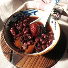红豆黑米养生粥