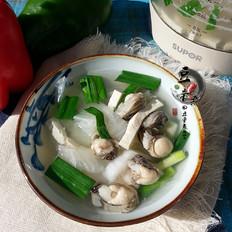海蛎豆腐汤