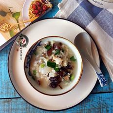 豚骨香菇粥